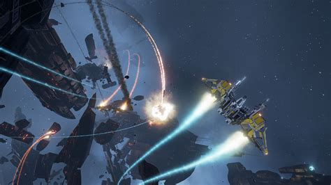 Have a look at the EVE: Valkyrie launch trailer for PSVR