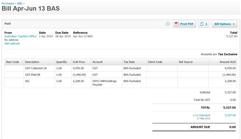 How to manage tax, BAS and PAYG liabilities in Xero