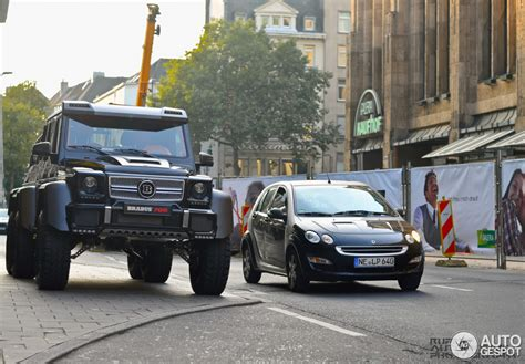 The Brabus B63S – 700 6x6 is Unsettling in Real Life