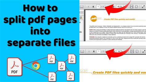 How to split pdf pages into separate files free in PC 2020