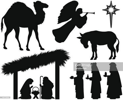 Nativity Silhouettes High-Res Vector Graphic - Getty Images