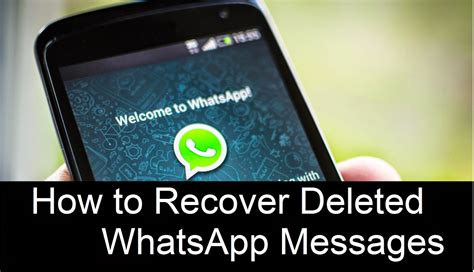 Recover Deleted WhatsApp Messages from Samsung (2020 Update)