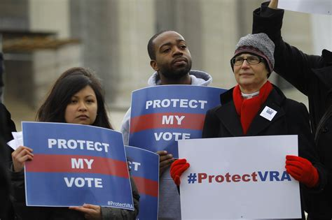 5 States Push Voter ID Laws Following 'Gutting' Of Voting