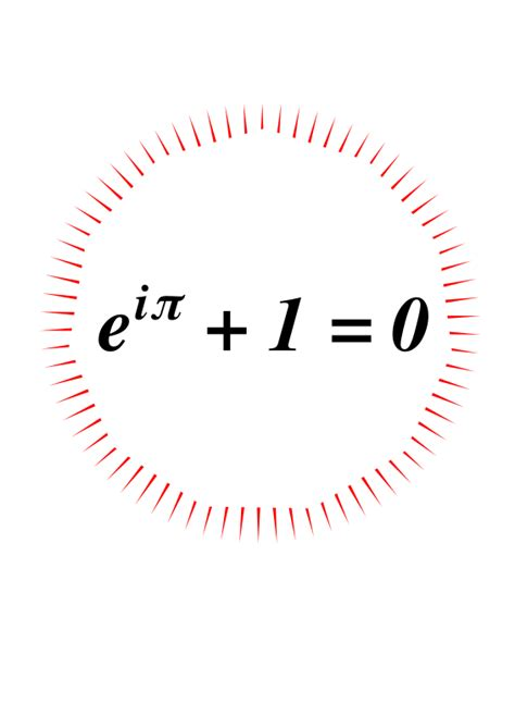 Euler's Identity - Openclipart