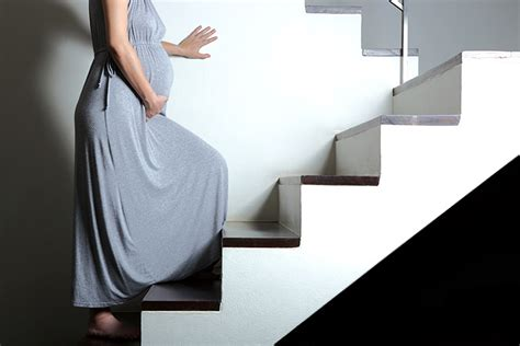 Climbing Stairs During Pregnancy - Is It Safe?