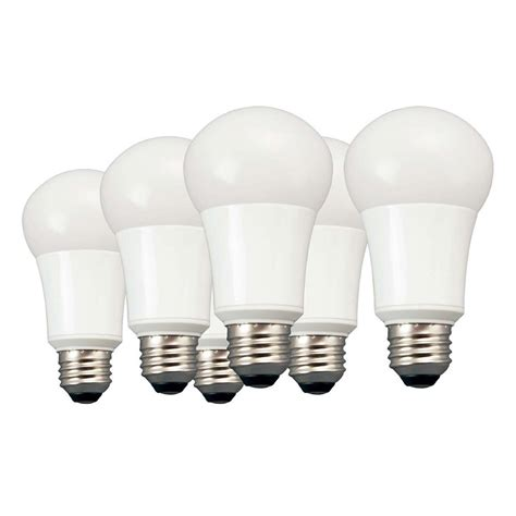 TCP 60W Equivalent Daylight (5000K) A19 Non-Dimmable LED