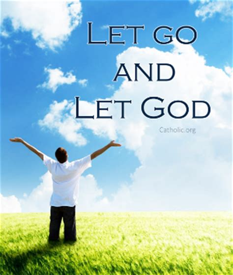Your Daily Inspirational Meme: Let go and let God