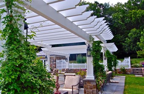 Pergola and Patio Cover - Pittstown, NJ - Photo Gallery