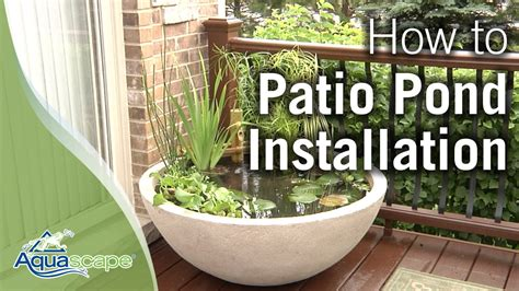 How To Create an Easy Container Water Feature with
