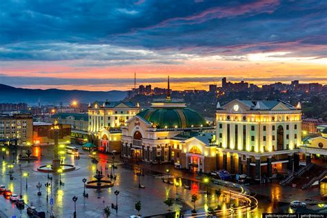 Let's fly over Krasnoyarsk – one of the oldest cities in
