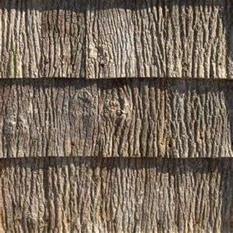Tree Bark Shingles : Old Fashioned Rooftops Made of Scrap