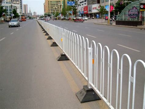Road Fence Provide Security for Pedestrians on the Road