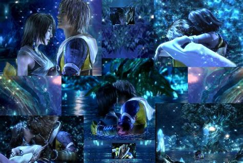 Tidus and Yuna by Keyblade-Masteress on DeviantArt