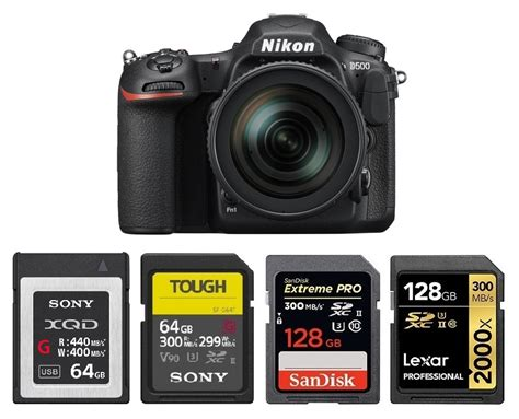 Best Memory Cards for Nikon D500 – Camera Ears