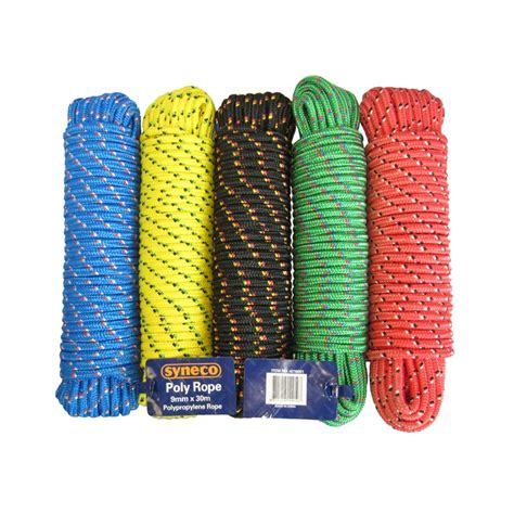 Rope available from Bunnings Warehouse
