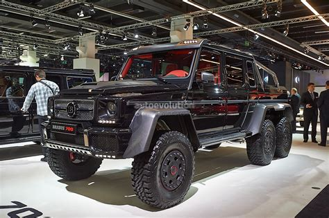 The Brabus B63S-700 6x6 is Not as Expensive as You Might