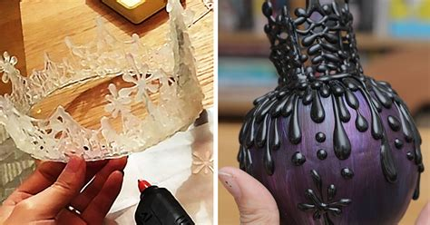 Unique Accessories Made Using Only Hot Glue By Japanese