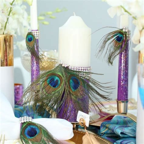 Natural Peacock Feathers   Oriental Trading   Glitter diy